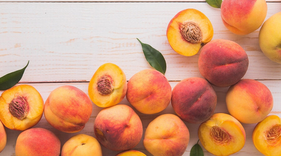 split peaches