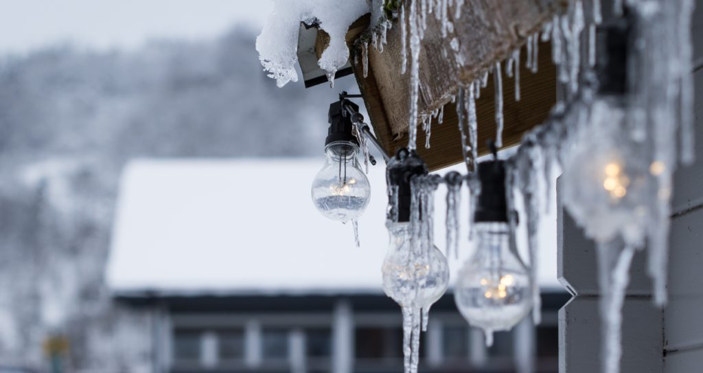 Snow and Ice on Roof